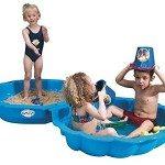 Paradiso Toys 703 - Sand-/Wassermuschel blau 2-tlg