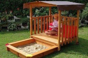 sandk sten mit dach sandkasten. Black Bedroom Furniture Sets. Home Design Ideas