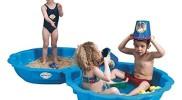 Paradiso Toys 703 – Sand-/Wassermuschel blau 2-tlg