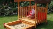 Im Test: GASPO Veranda mit Sandkasten oder Planschbecken