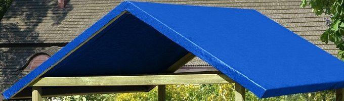 Beim Dach kann mittels Unterlegscheiben das Ausreißen verhindert werden