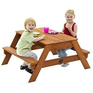 Deckel drauf und schon ist es ein Picknicktisch