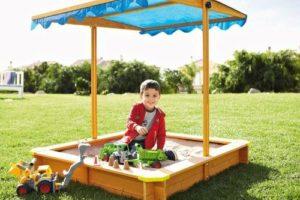 Sonnengeschützter Spielspaß von Florabest