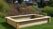 Qualitativ hochwertig: Sandkasten aus Lärche